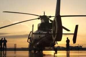HOUSTON -A Coast Guard Air Station Houston rescue crew