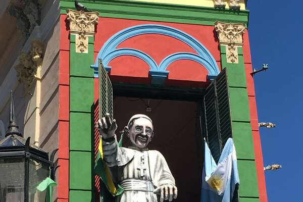From Mariruth and George Wild of Clifton Park come images of the Southern Hemisphere including a paper mache of Pope Francis in Buenos Aires, Argentina.