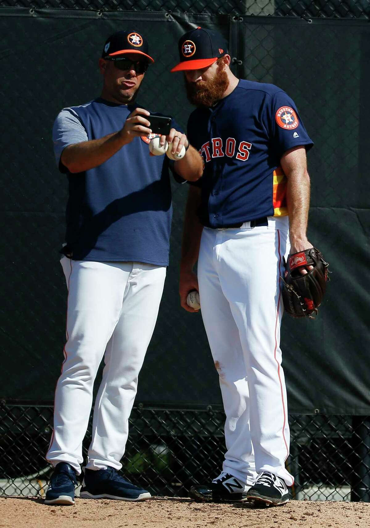 What are the Astros accused of doing? The Astros allegedly used a camera positioned in center field to steal opposing catchers' signs during games. Team personnel would allegedly watch the feed in a hallway between the clubhouse and the dugout, relaying what was coming by hitting a garbage can. Thus, the Astros' hitters would know which pitchers were coming ahead of time.