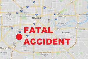 An elderly woman is dead following a fatal two-car accident in the Meyerland neighborhood of southwest Houston.