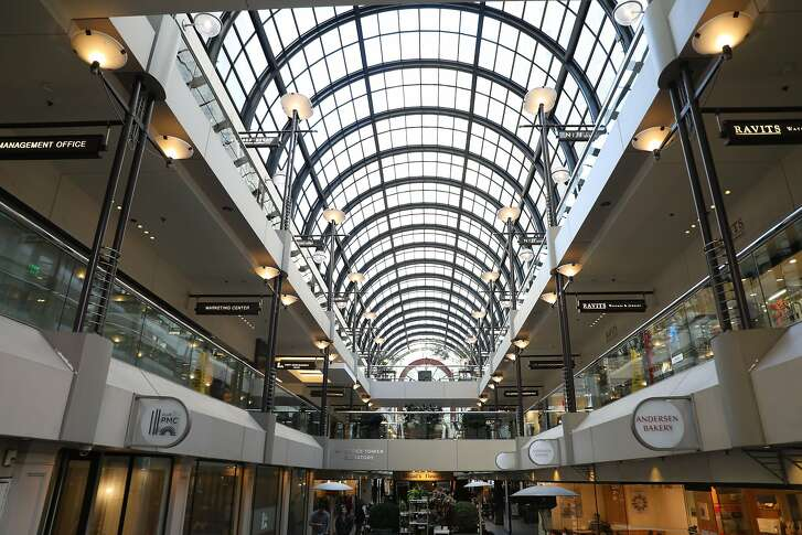 The Crocker Galleria mall, built in 1982 in San Francisco's Financial District, may be renovated under a new proposal.