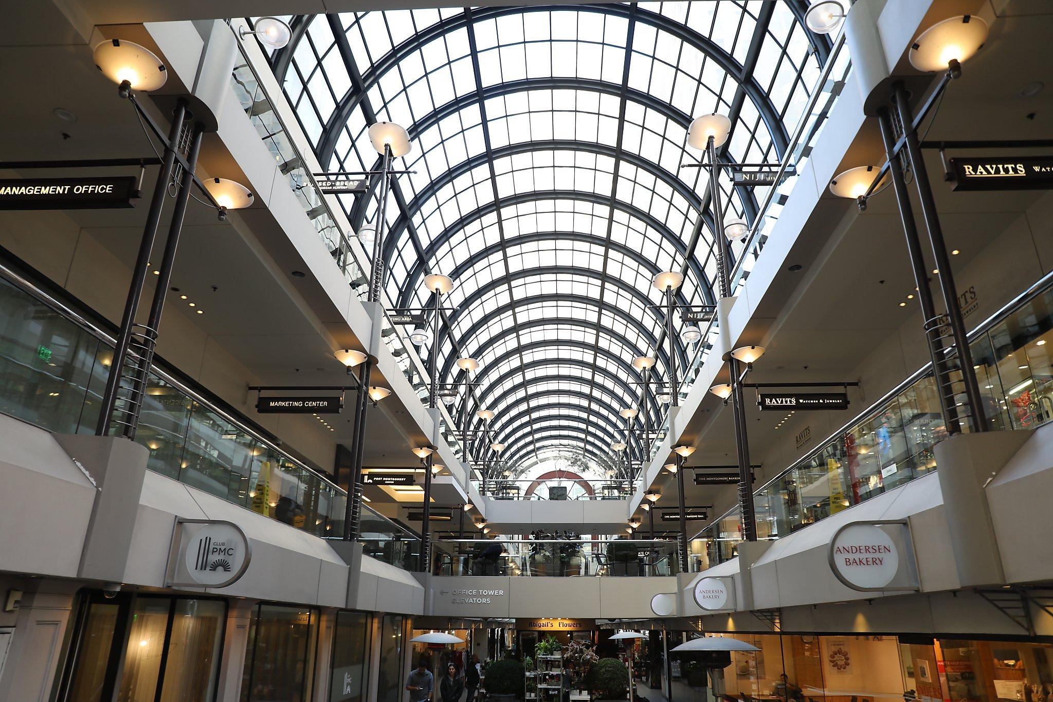 SF's 1982-era Crocker Galleria mall seeks face-lift in bid