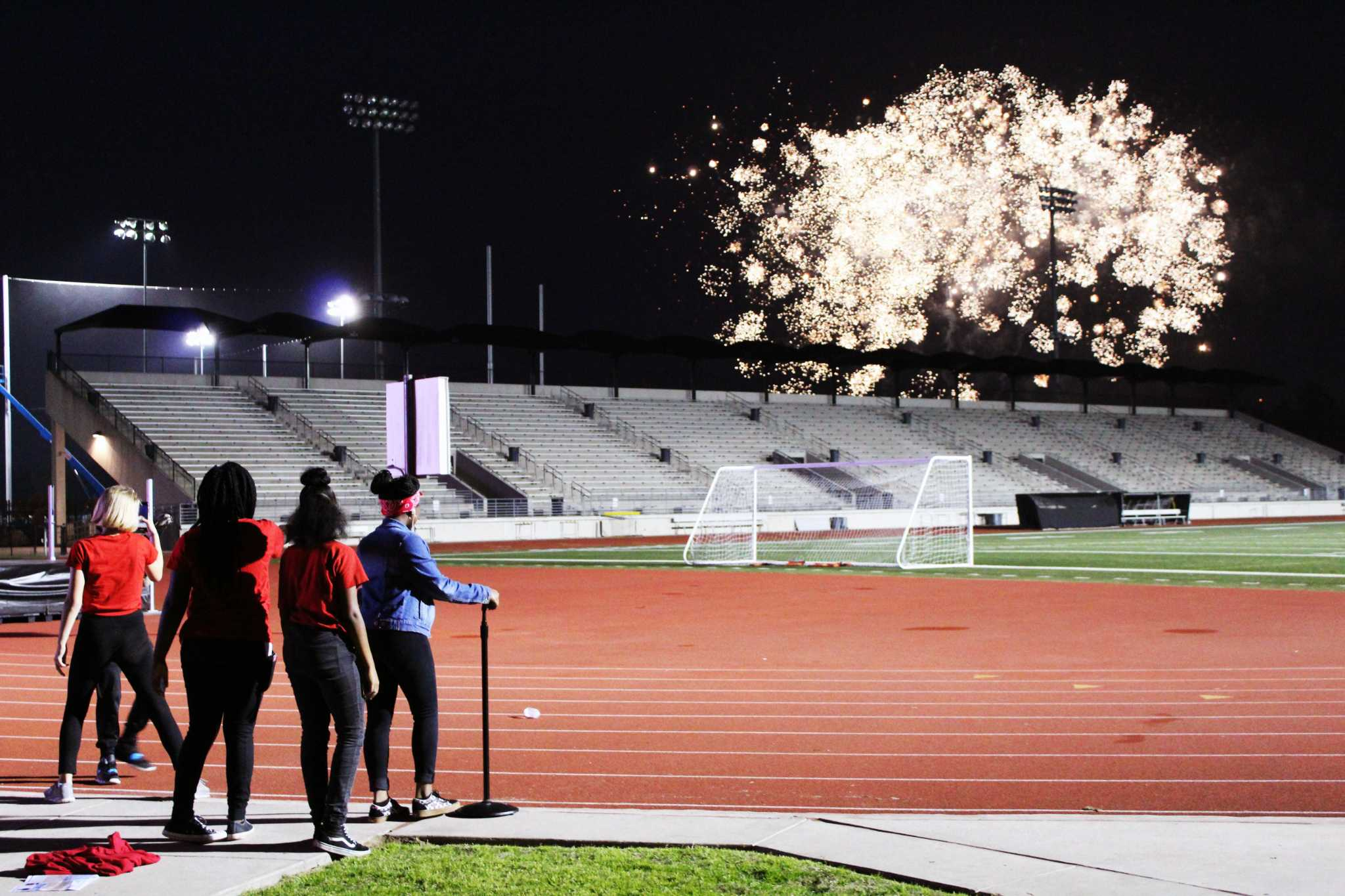Humble ISD celebrates 100 years with speeches, sparks