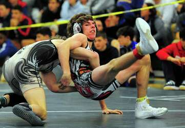 Killingly rises to the top to win Class M wrestling title