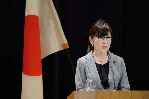 Tomomi Inada, Japan's former defense minister, in Tokyo on Feb. 4, 2017.