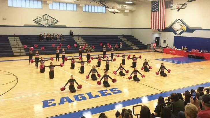 The Dayton Dazzlers competed at the Barbers Hill Dance Contest and came home with numerous awards.