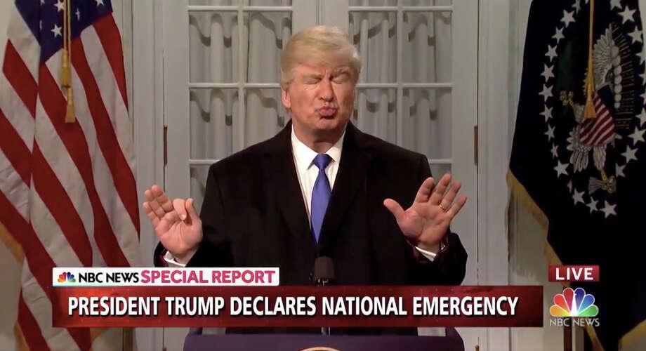 "Alec Baldwin as President Donald Trump on ""Saturday Night Live."" Photo: NBC / NBC"