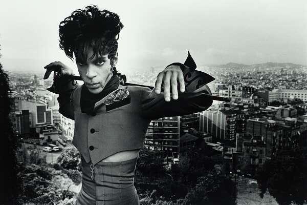 Terry Gydesen, Prince at Maontjuic. Barcelona, Spain, 1993. © Terry Gydesen/photographer