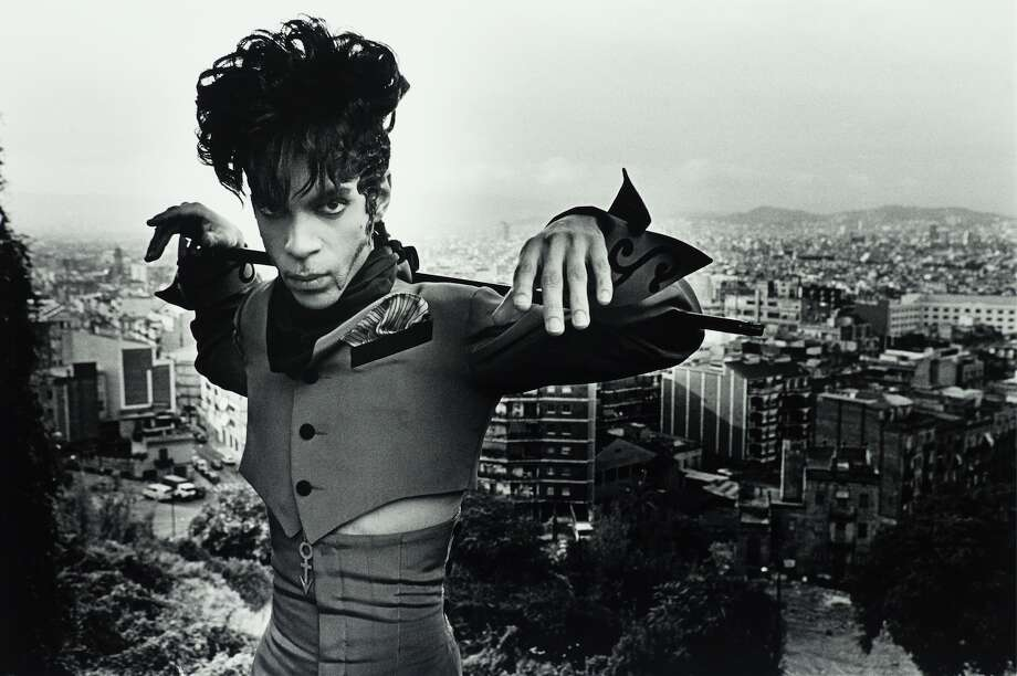 Terry Gydesen, Prince at Maontjuic. Barcelona, Spain, 1993. © Terry