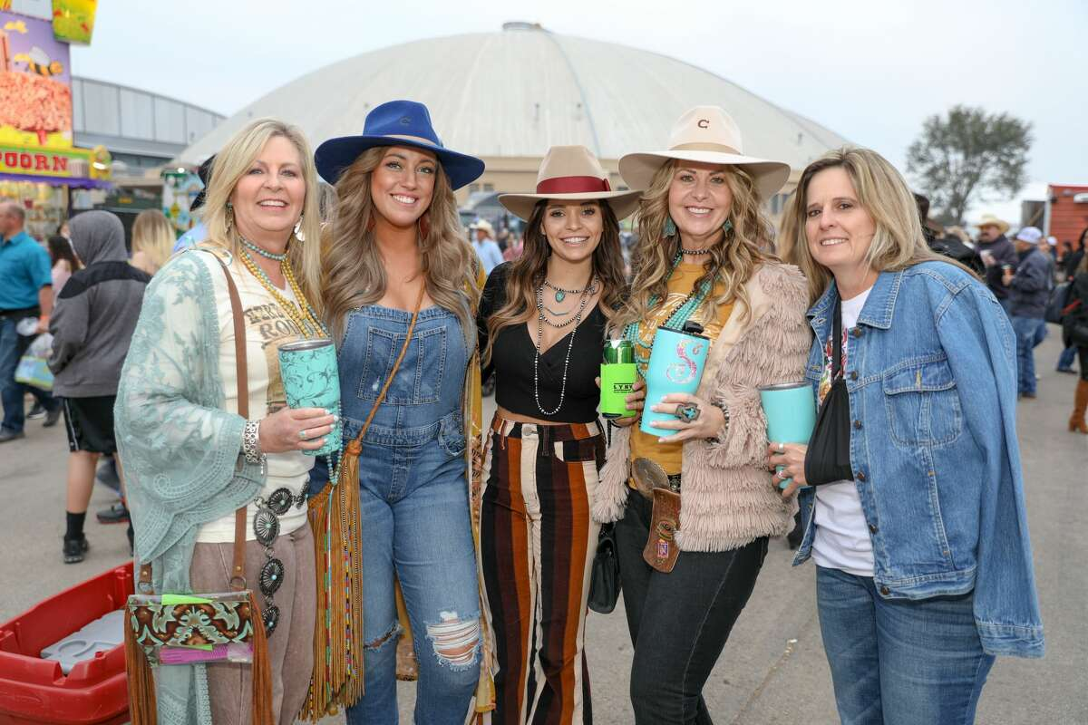 Bull riding and carnival rides were the highlight at the San Antonio Stock Show & Rodeo before Cole Swindell's performance on Saturday, Feb. 16.