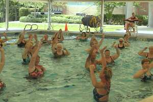 The Monroe Parks and Recreation Department is sponsoring water aerobics classes at the pool at Masuk High School, 1014 Monroe Turnpike.