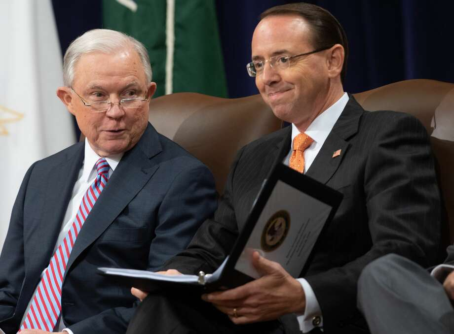 Rosenstein plans to leave Justice Deparment next month
