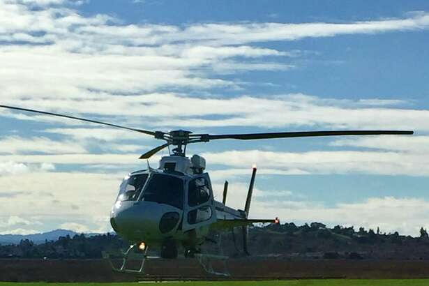 Emergency crews responded to the emergency landing of a hot air balloon carrying 10 passengers Sunday morning in the area of Skaggs Island near Vallejo, authorities said.