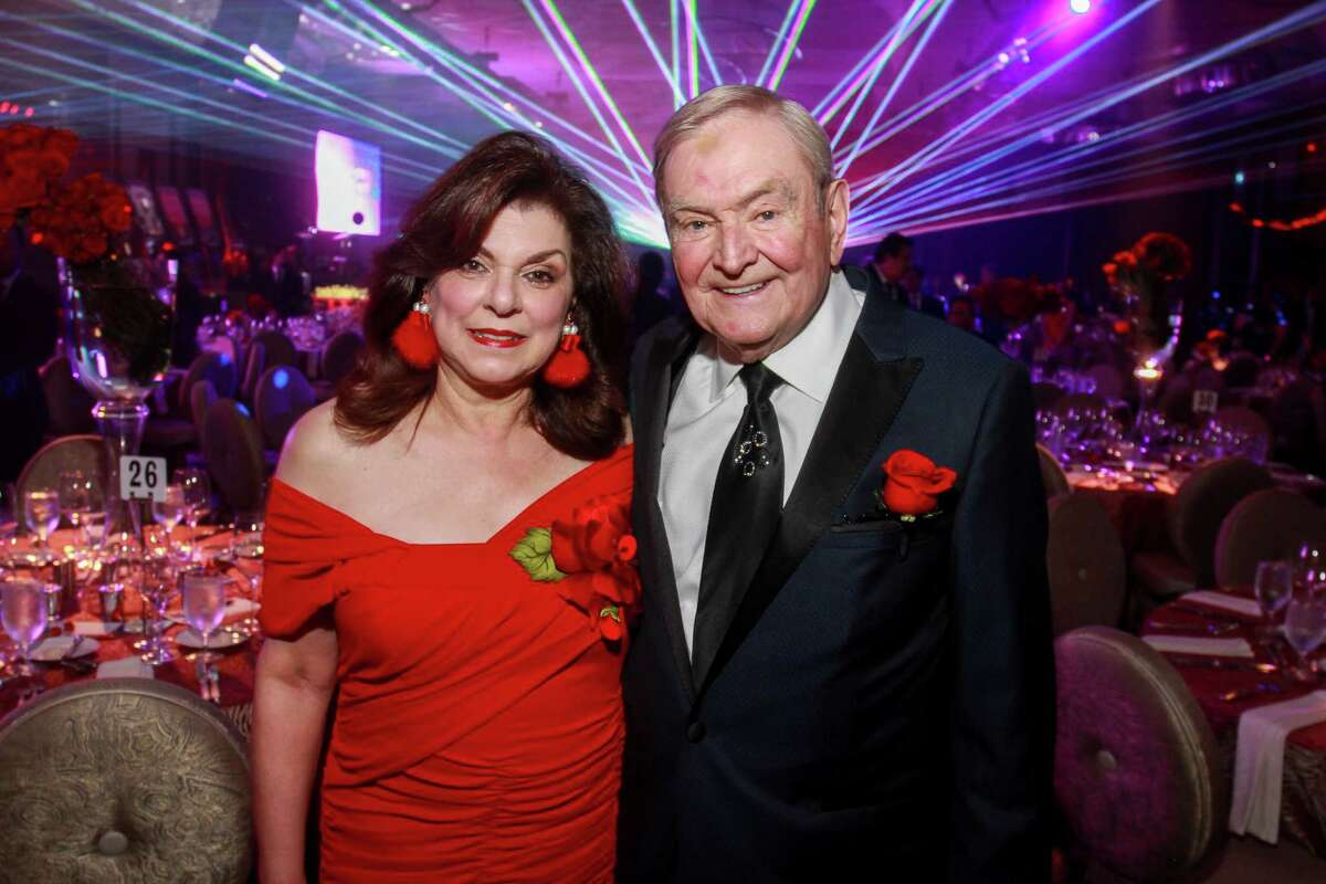 Laura and Dave Ward at Houston Children's Charity's 22nd annual gala.