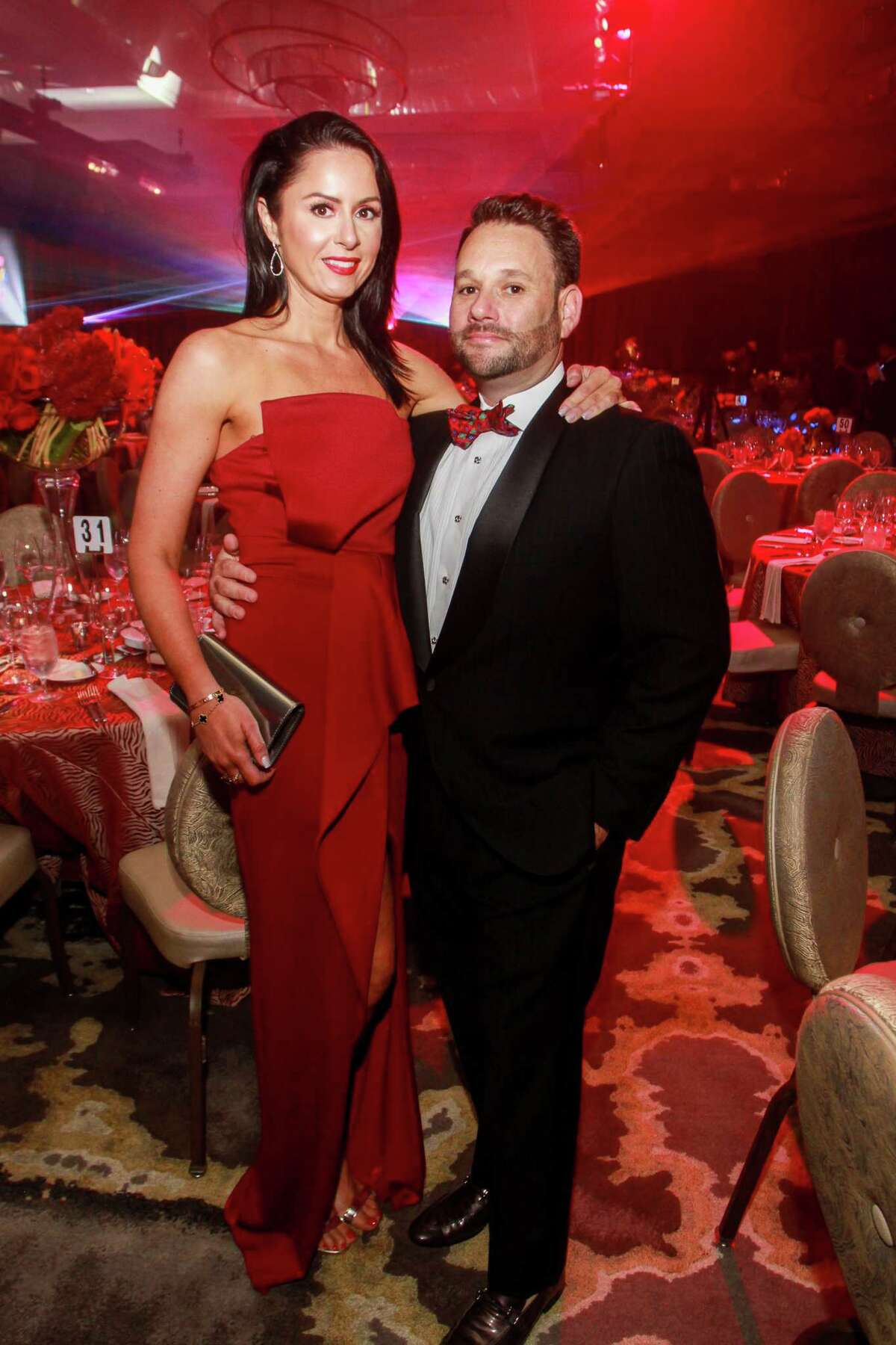 Veronica Nemeth and Tommy Kuranoff at Houston Children's Charity's 22nd annual gala.