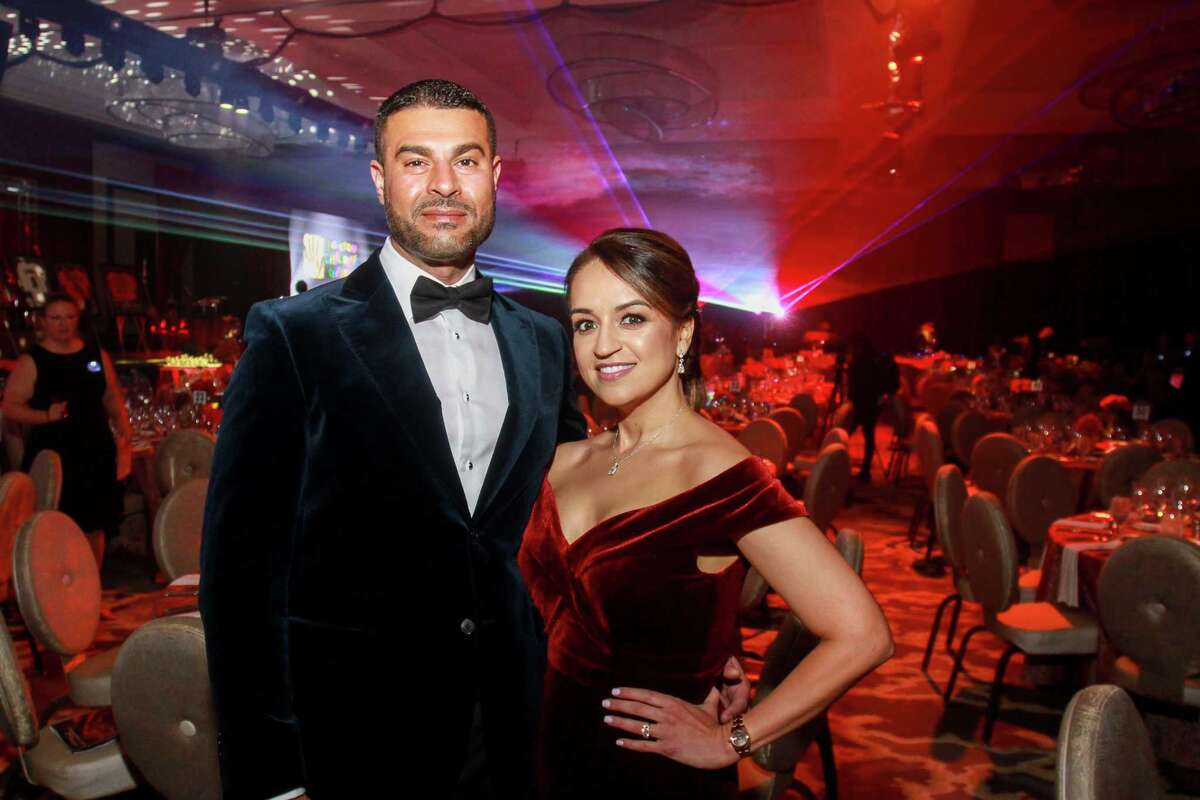 Omar and Maria Alaoui at Houston Children's Charity's 22nd annual gala.