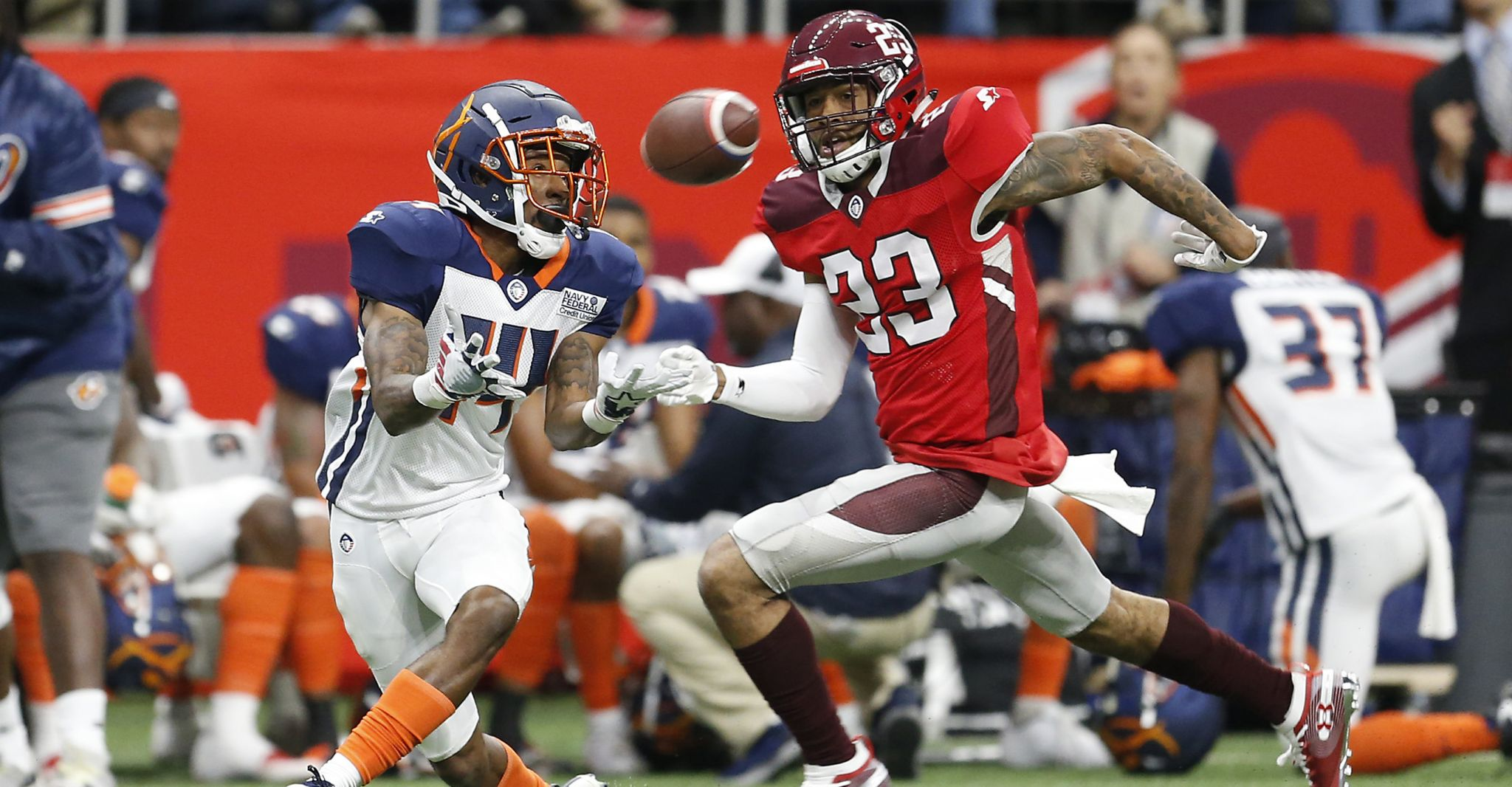 San Antonio Commanders lose after late rally by Orlando Apollos