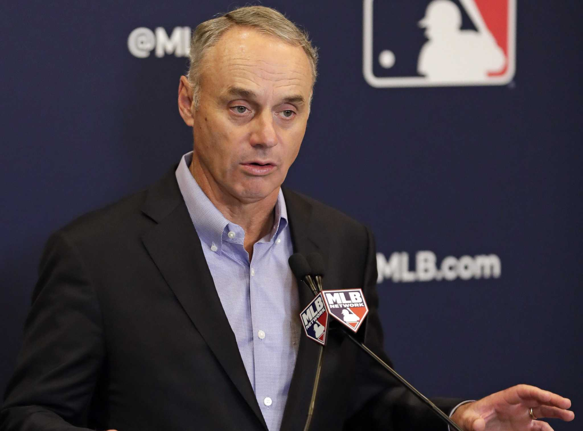 Lots of talk, little action: What's a baseball commissioner to do?