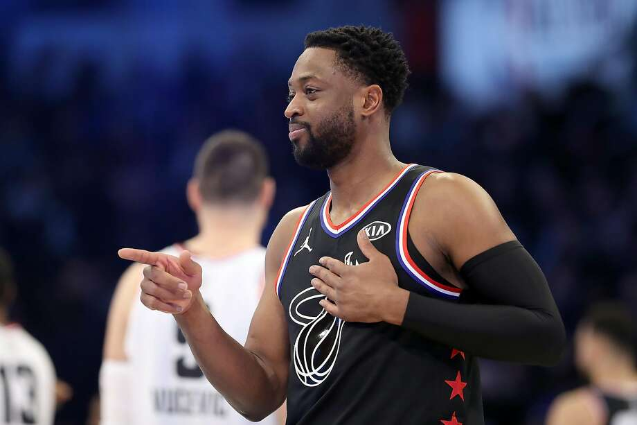 Dwyane Wade's last appearance at All-Star Weekend could not have gone any better, the three-time NBA champion said. Photo: Streeter Lecka / Getty Images