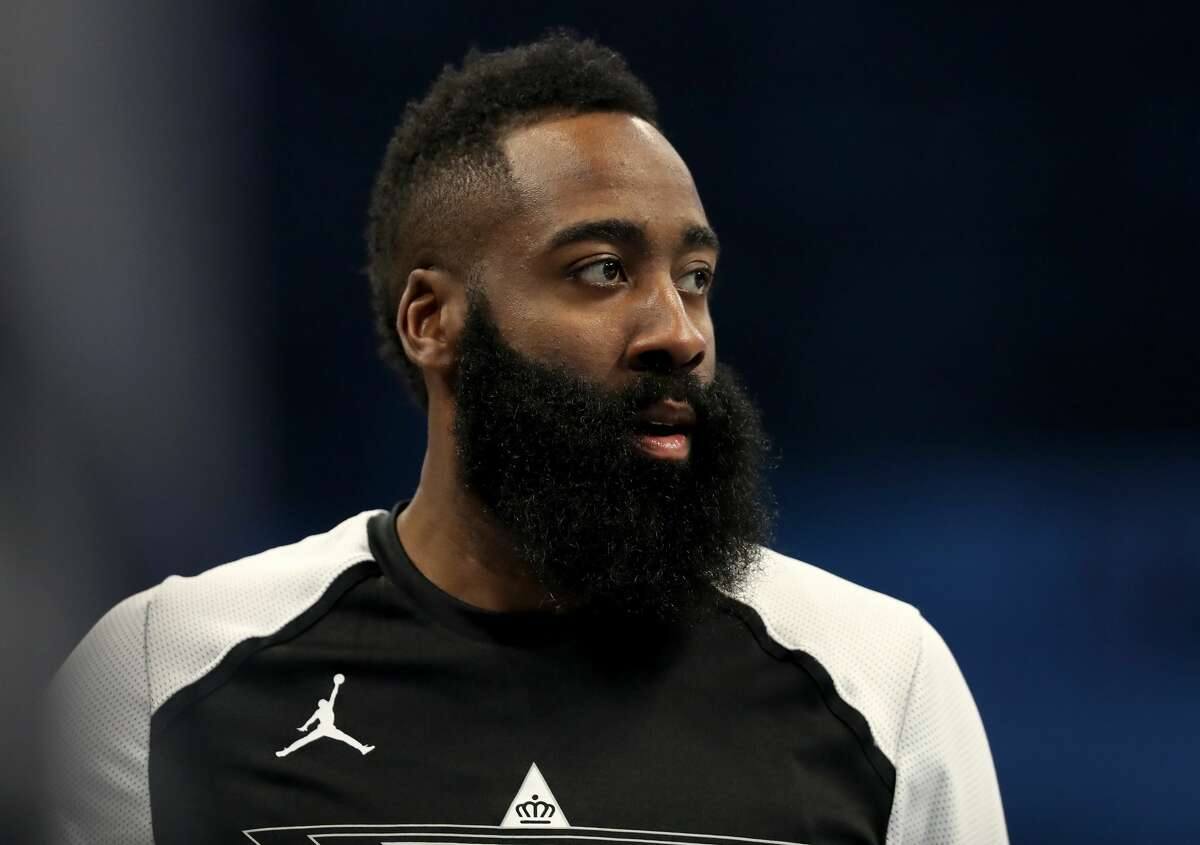 PHOTOS: Rockets vs. Lakers CHARLOTTE, NORTH CAROLINA - FEBRUARY 17: James Harden #13 of the Houston Rockets and Team LeBron warms up before the NBA All-Star game as part of the 2019 NBA All-Star Weekend at Spectrum Center on February 17, 2019 in Charlotte, North Carolina. (Photo by Streeter Lecka/Getty Images) >>>Look back at game action from the Rockets' game against the Lakers on Thursday, Feb. 21, 2019 ...