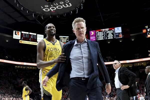 "7613bdc2971 Warriors coach Steve Kerr explains ""weird relationship"" with NBA ..."
