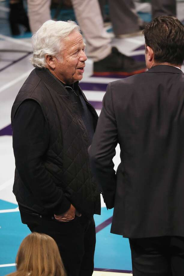 CHARLOTTE, NC - FEBRUARY 17:  Robert Kraft attends the 68th NBA All-Star Game at Spectrum Center on February 17, 2019 in Charlotte, North Carolina.  (Photo by Jeff Hahne/Getty Images) Photo: Jeff Hahne/Getty Images