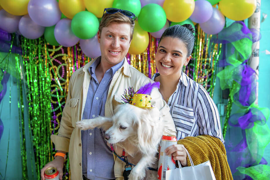 San Antonio gathered to celebrate El Mardi Gras 2019 at Paper Tiger Sunday February 17th. Photo: Joel Pena