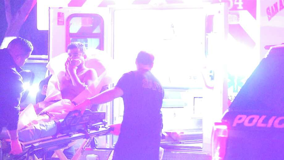 Authorities responded to the shooting at about 11:45 p.m. in the 9800 block of Fredericksburg Road. Photo: Ken Branca