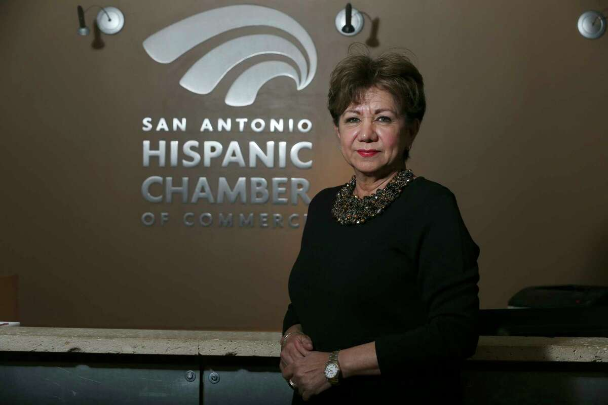 Diane Sanchez is the new Chief Executive Officer of the San Antonio Hispanic Chamber of Commerce, Wednesday, Feb. 13, 2019.