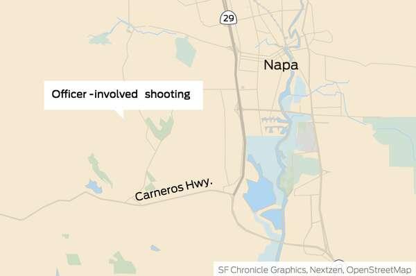 Armed motorist fatally shot by Napa County sheriff's deputy