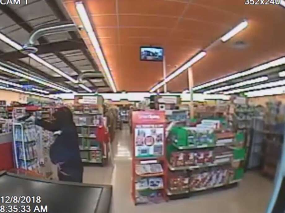 "A robber has been described as polite after he referred to dollar store clerks as ""yes ma'am"" and ""no ma'am"" during a holdup in southeast Houston. Photo: Houston Police Department"