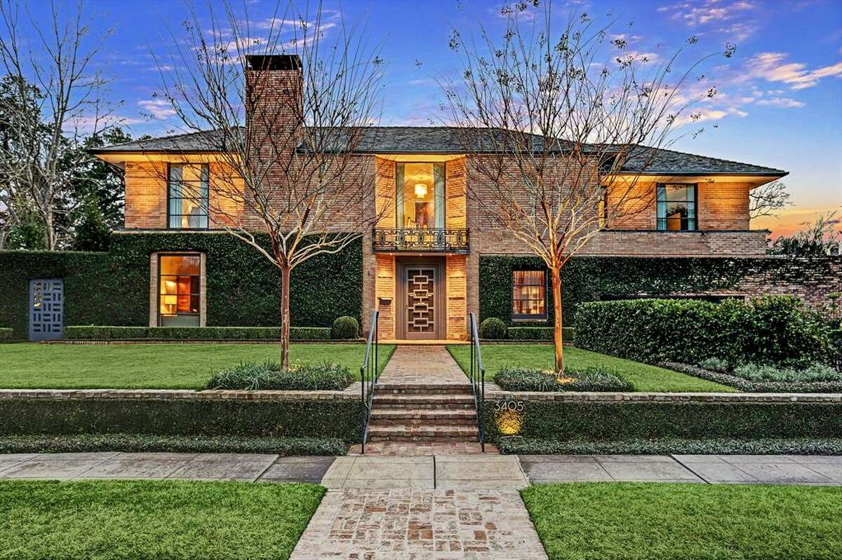 """Designed by renowned architect John Staub, the $5.5 million home at 3405 Meadow Lane was built in 1947 and is considered one of Houston's most architecturally and historically significant properties. The home underwent a 2-year expansion with the help of top-rated architects and designers that implemented Staub's original plans as a """"guide and inspiration"""" for the remodel."""