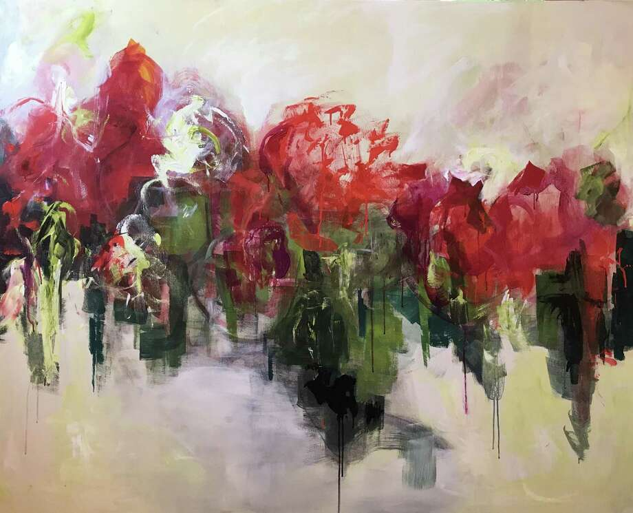 "Award-winning Stamford artist Julliette Tehrani's works will be on view at her solo show, ""Nature Abstracted,""at the Stamford Loft Artists Association March 30-April 28. Photo: Loft Artists Association / Contributed Photo"