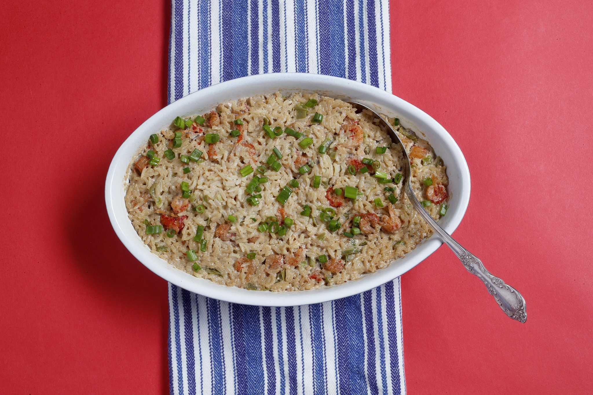 Recipe: Crawfish Jambalaya Rice Dressing