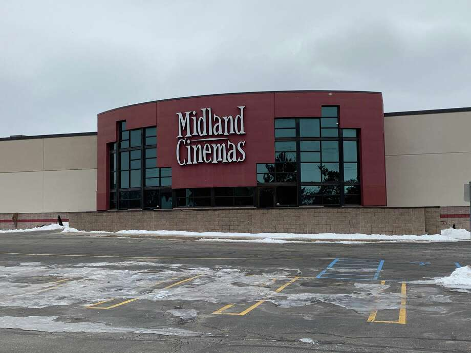 The front of the NCG Midland Cinemas building, located at 6540 Cinema Drive. Photo: Mitchell Kukulka