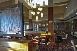 The dining room of the Angelo's Prime Bar + Grill at the Hilton Garden Inn in Clifton Park. (Times Union file photo.)