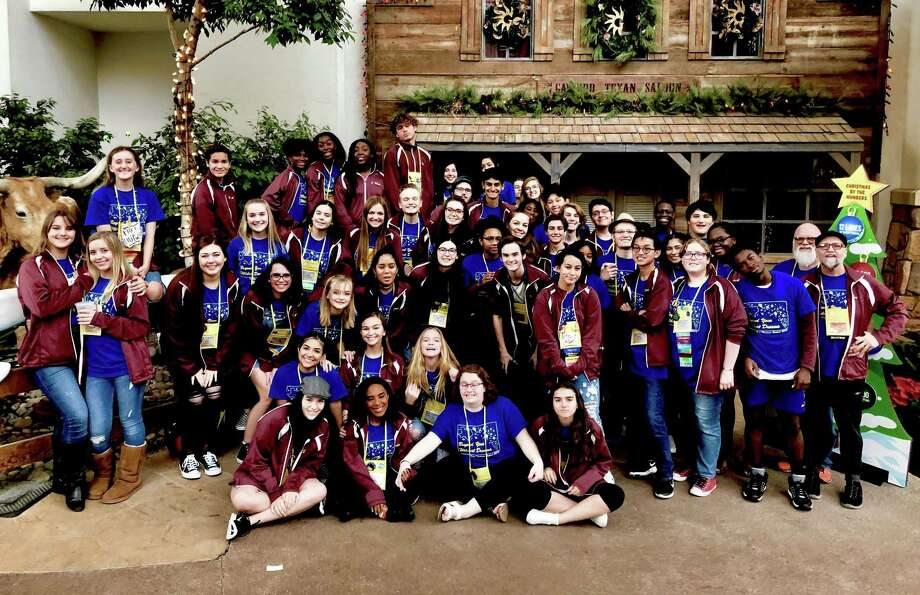 Fifty-one George Ranch Theatre students attended the Texas State Festival in Grapevine, Texas. This was the largest group to attend the Festival in school history. Photo: George Ranch High School / George Ranch High School