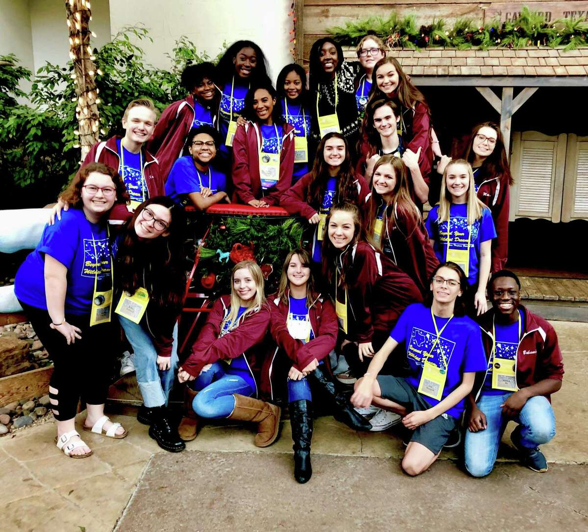 Twenty-two George Ranch Theatre students (the most in school history) earned the highest rating of 'Superior' to qualify for the International Thespian Festival. The Festival will be held June 24-29 in Lincoln, Nebraska.