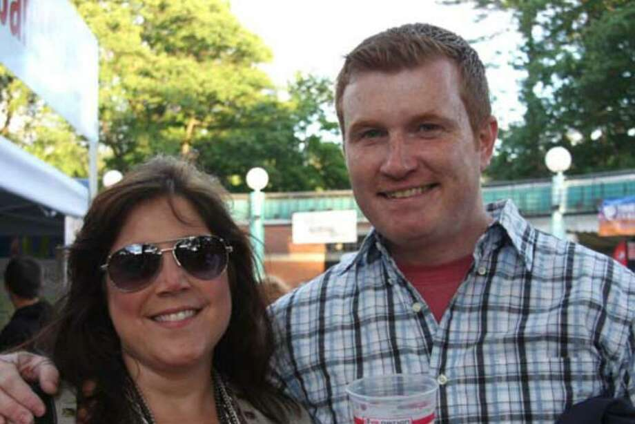 Were you seen at Kings of Leon at SPAC? Photo: Kacey Bruce And Mary Kate Baumann