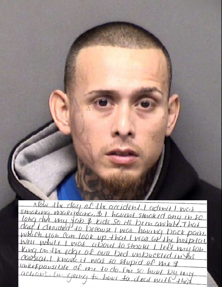 The father of 8-month-old King Jay Davila wrote a letter to the San Antonio Express-News from the Bexar County jail saying his son died accidentally after falling from a bed at his Northeast Side home.  Read our full story on our subscriber site, ExpressNews.com. Click ahead to read excerpts from Davila's letter.