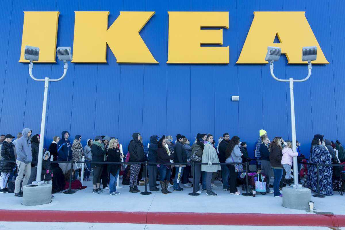 Ikea The San Antonio area finally got an Ikea location on Feb. 13, 2019. Before that, the closest location to San Antonio was in Round Rock.