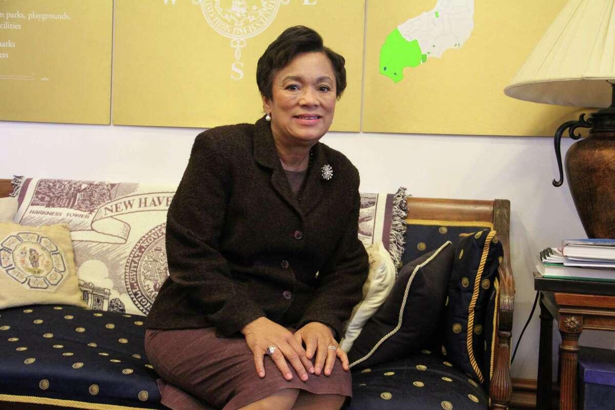 New Haven Mayor Toni Harp.