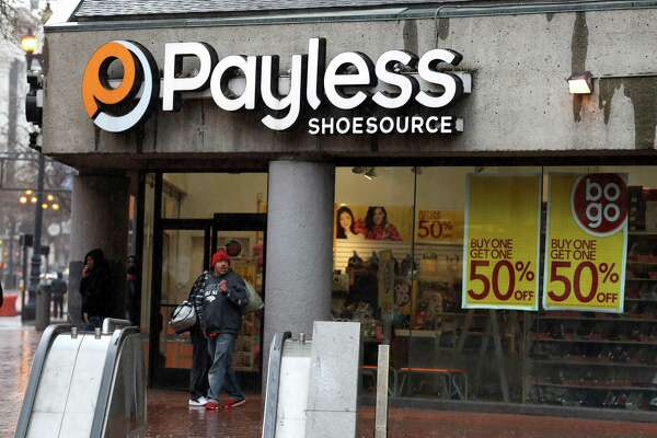 SAN FRANCISCO, CALIFORNIA - FEBRUARY 08: A pedestrian walks by a Payless Shoe store on February 08, 2019 in San Francisco, California. Payless is preparing to file for a second bankruptcy and shutter many, if not all of its North American stores. (Photo by Justin Sullivan/Getty Images)