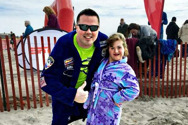 Middletown Police Officer Jay Bodell will be the first Connecticut police officer to take part in the Special Olympics Super Plunge: 24 plunges every hour for 24 hours. The event, which has always been held in Rhode Island, this year moved to Westbrook for March 30 to 31.