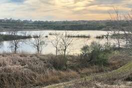 Converse public works employees have begun clearing debris from the Converse lake area, as city officials hope to open the roughly 100-acre site for public use this summer.