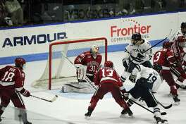Ivy League and ECAC Hockey rivals Yale and Harvard will meet in Madison Square Garden in New York in 2020.