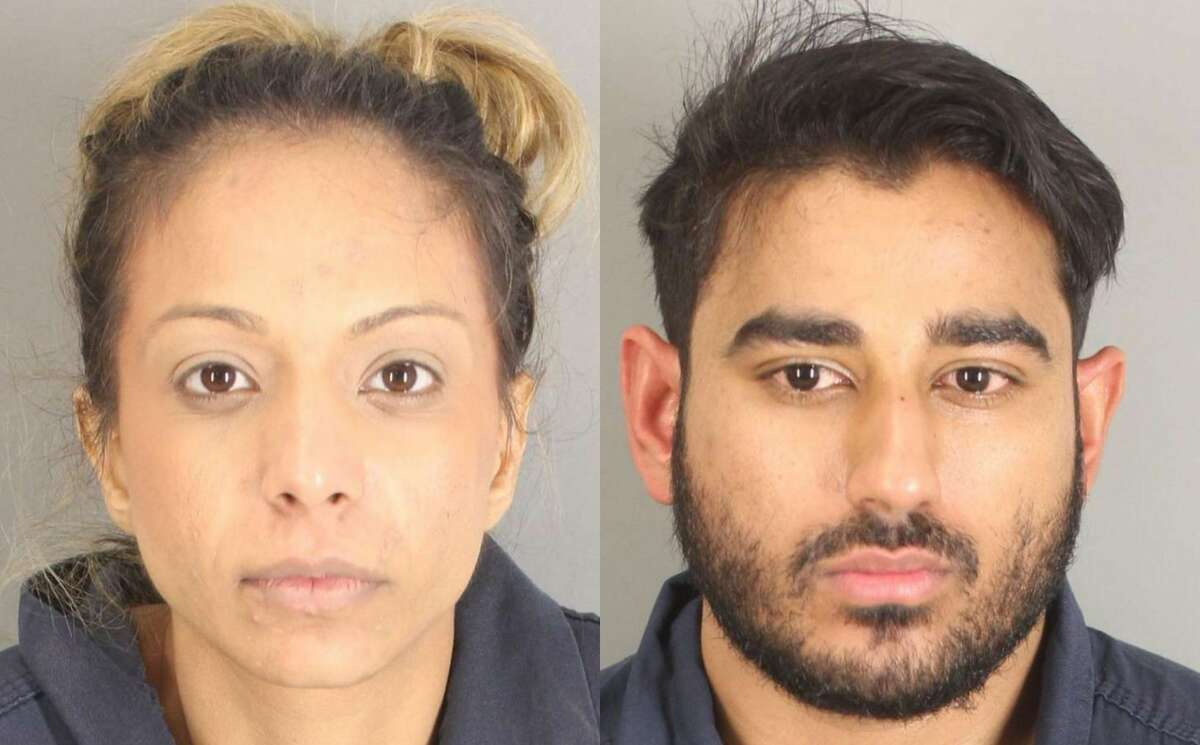 Osama Fayyaz, 29, and Naureen Nooralla Gheewalla-Fayyaz, 28, were arrested Houston police officers on Jan. 14 after they allegedly found the two in possession of at least 50 pounds of marijuana, according to court documents.