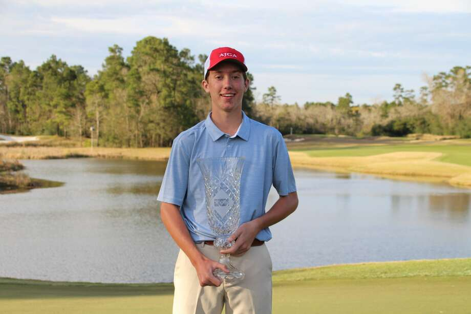 AJGA Simplify Boys Championship winner Jackson Van Paris Photo: AJGA