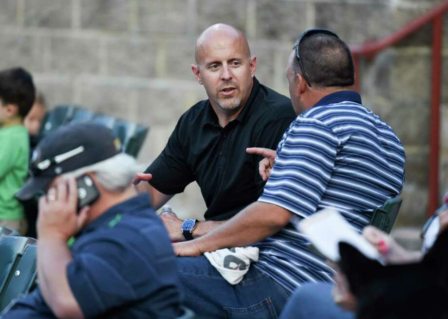 Doug Harris, shown here in 2015 at a Bowie Baysox game, has faced cancer twice. Photo: Washington Post Photo By Jonathan Newton. / The Washington Post