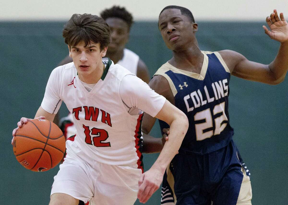 The Woodlands guard Charlie Zorn led the Highlanders with 12 points against Eisenhower on Monday.